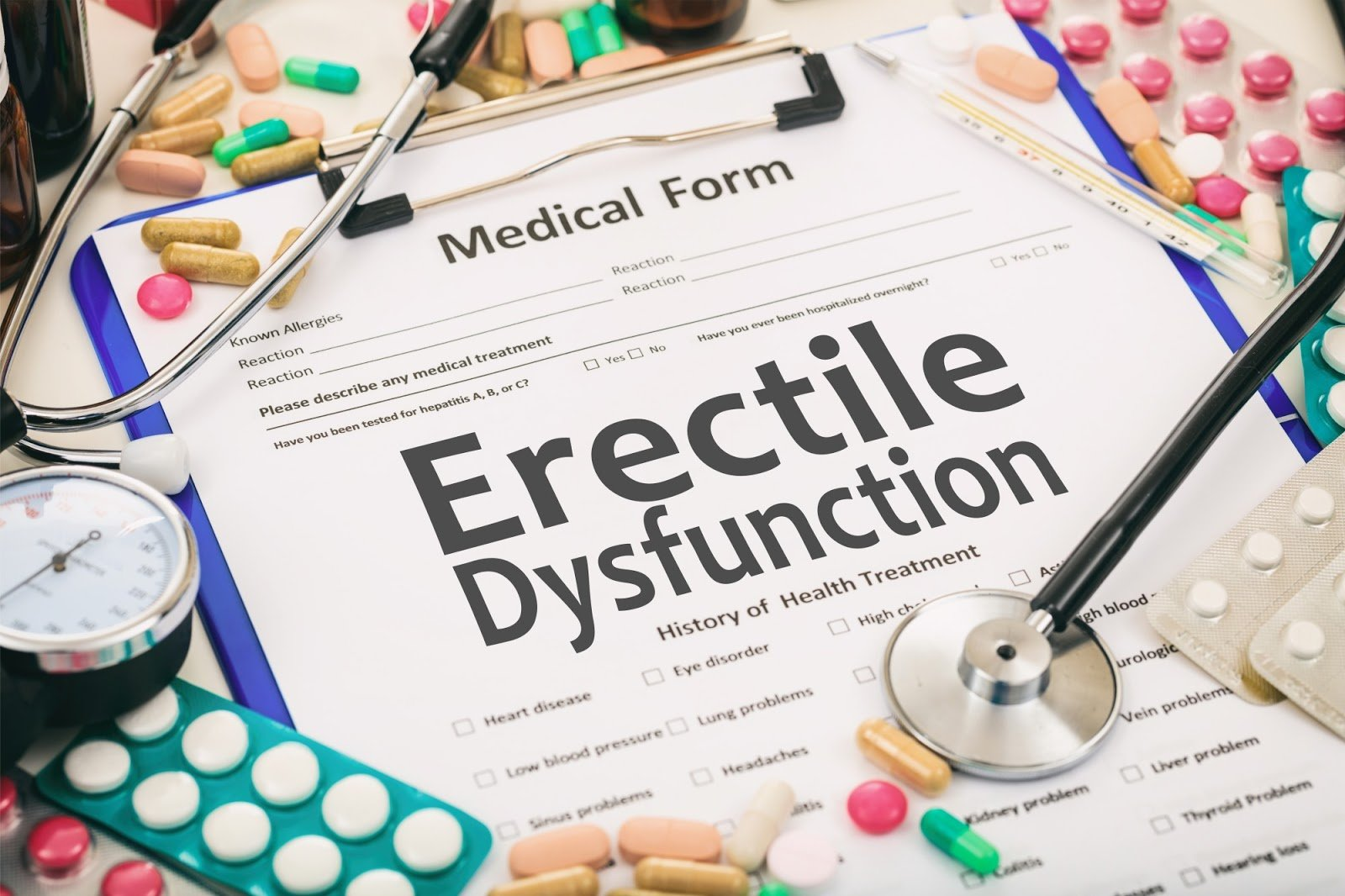 4 of the Best Erectile Dysfunction Treatments